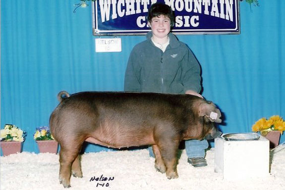 2ND DUROC POINTS GILT