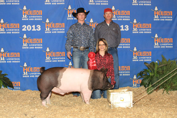 2ND PLACE CROSSBRED King