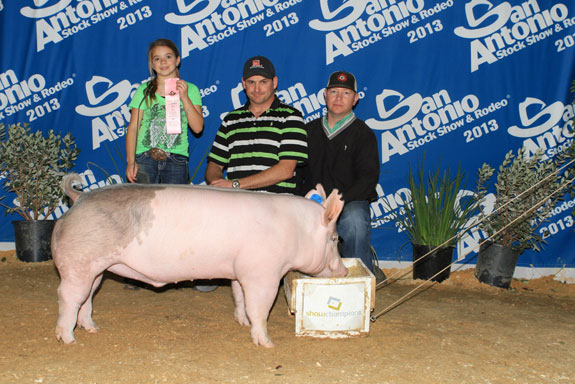 4TH PLACE CROSSBRED Grady