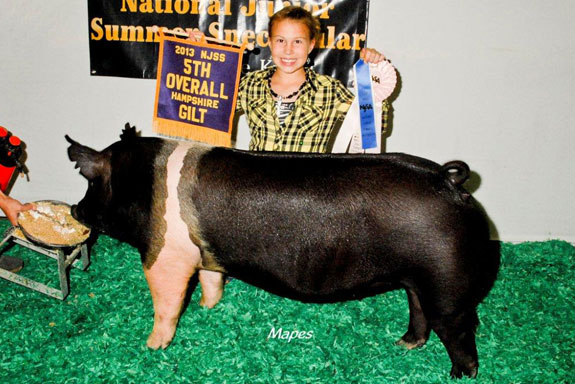 5TH OVERALL HAMPSHIRE GILT