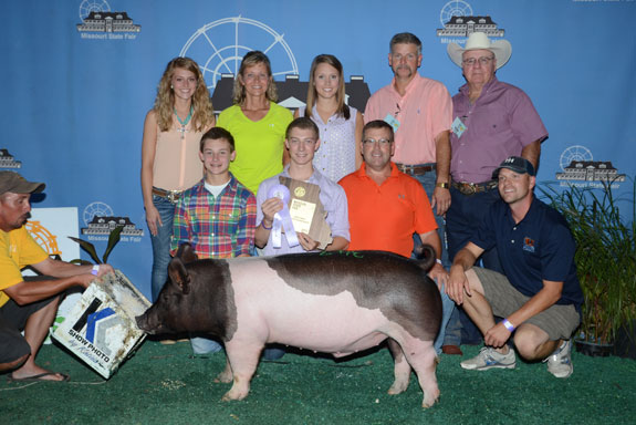 CHAMPION CROSS & RESERVE GRAND OVERALL