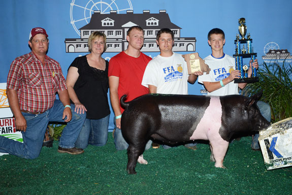 CHAMPION FFA HAMPSHIRE & 4TH OVERALL BARROW