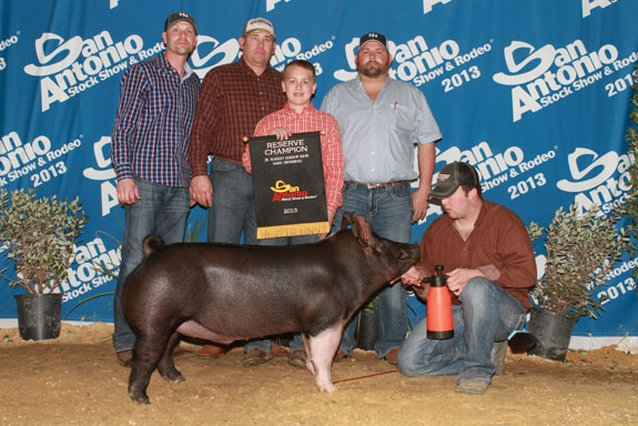 RESERVE CHAMPION DARK CROSS