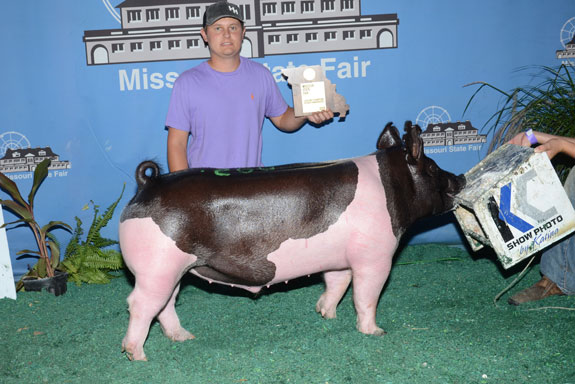 RESERVE CHAMPION FFA CROSSBRED BARROW