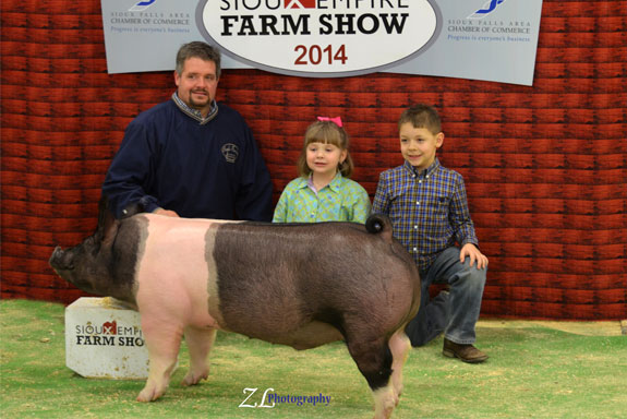 4TH OVERALL BARROW & 7TH OVERALL MARKET HOG
