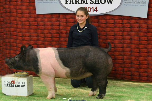 RESERVE OVERALL BARROW & 4TH OVERALL MARKET HOG